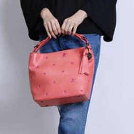 ビバユー VIVAYOU ☆の刺繍入り2wayショルダー (ピンク)