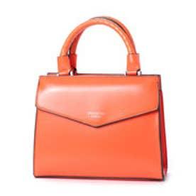 ビバユー VIVAYOU シンプル&シャープライン2WAYスタイルバッグ (オレンジ)