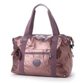 キプリング Kipling ART M (METALLIC PLUM)