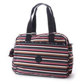 キプリング Kipling JULY BAG (Multi Stripes)