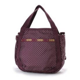 レスポートサック LeSportsac SMALL JENNI (BURGUNDY PIN DOT)