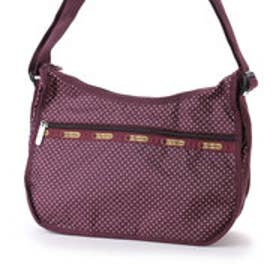レスポートサック LeSportsac CLASSIC HOBO (BURGUNDY PIN DOT)
