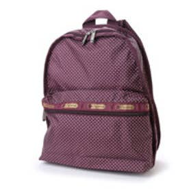 レスポートサック LeSportsac BASIC BACKPACK (BURGUNDY PIN DOT)