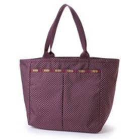 レスポートサック LeSportsac EVERYGIRL TOTE (BURGUNDY PIN DOT)