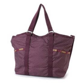 レスポートサック LeSportsac SMALL CARRYALL (BURGUNDY PIN DOT)