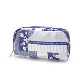レスポートサック LeSportsac ESSENTIAL COSMETIC (PATCHWORK BLUE C)