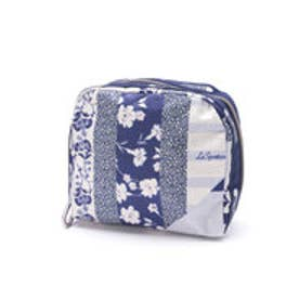 レスポートサック LeSportsac SQ ESSENTIAL COSMETIC (PATCHWORK BLUE C)
