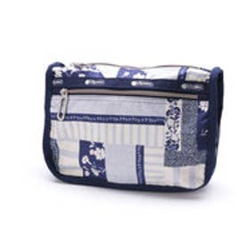 レスポートサック LeSportsac EVERYDAY COSMETIC (PATCHWORK BLUE C)