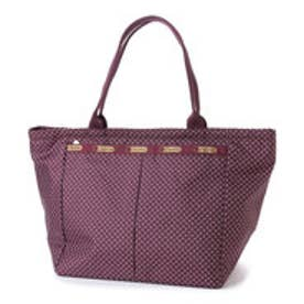 レスポートサック LeSportsac SMALL EVERYGIRL TOTE (BURGUNDY PIN DOT)