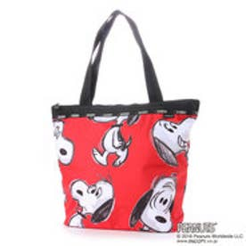 レスポートサック LeSportsac HAILEY TOTE (HAPPY SNOOPY RED)