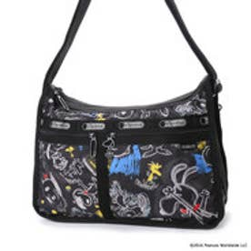 レスポートサック LeSportsac DELUXE EVERYDAY BAG (CHALKBOARD SNOOPY)
