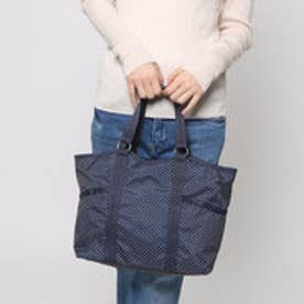 レスポートサック LeSportsac SMALL CARRYALL (DEEP BLUE PIN DOT)