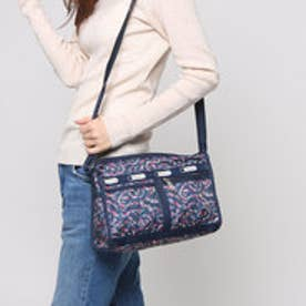 レスポートサック LeSportsac DELUXE SHOULDER SATCHEL (FAIRY FLORAL BLUE)