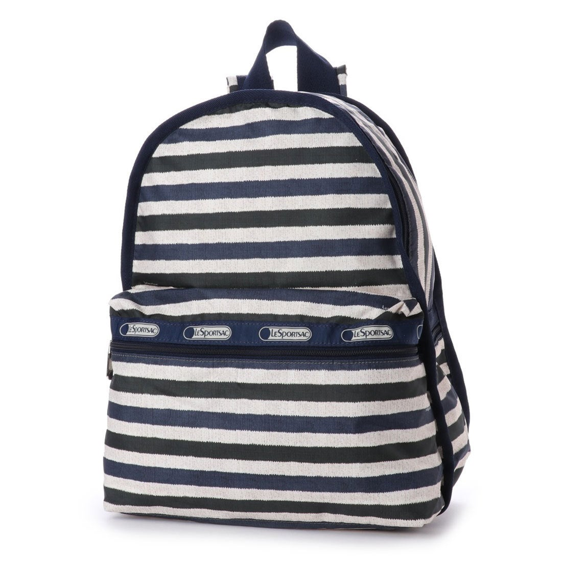 【SALE 29%OFF】レスポートサック LeSportsac BASIC BACKPACK (COTTON STRIPE) レディース