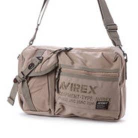 アヴィレックス AVIREX アヴィレックス【AVIREX】2wayショルダーバッグ (ベージュ)