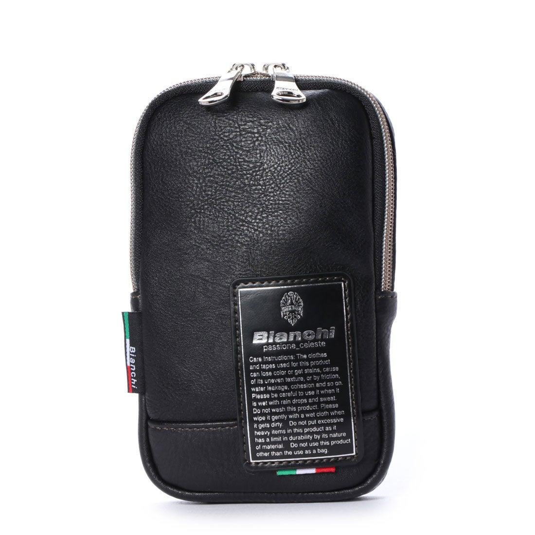 ビアンキ Bianchi ミニポーチ (ブラック)