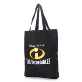 ディズニー Disney ディズニー【Disney】ロゴ入りトートバッグ (ブラック×ホワイト)