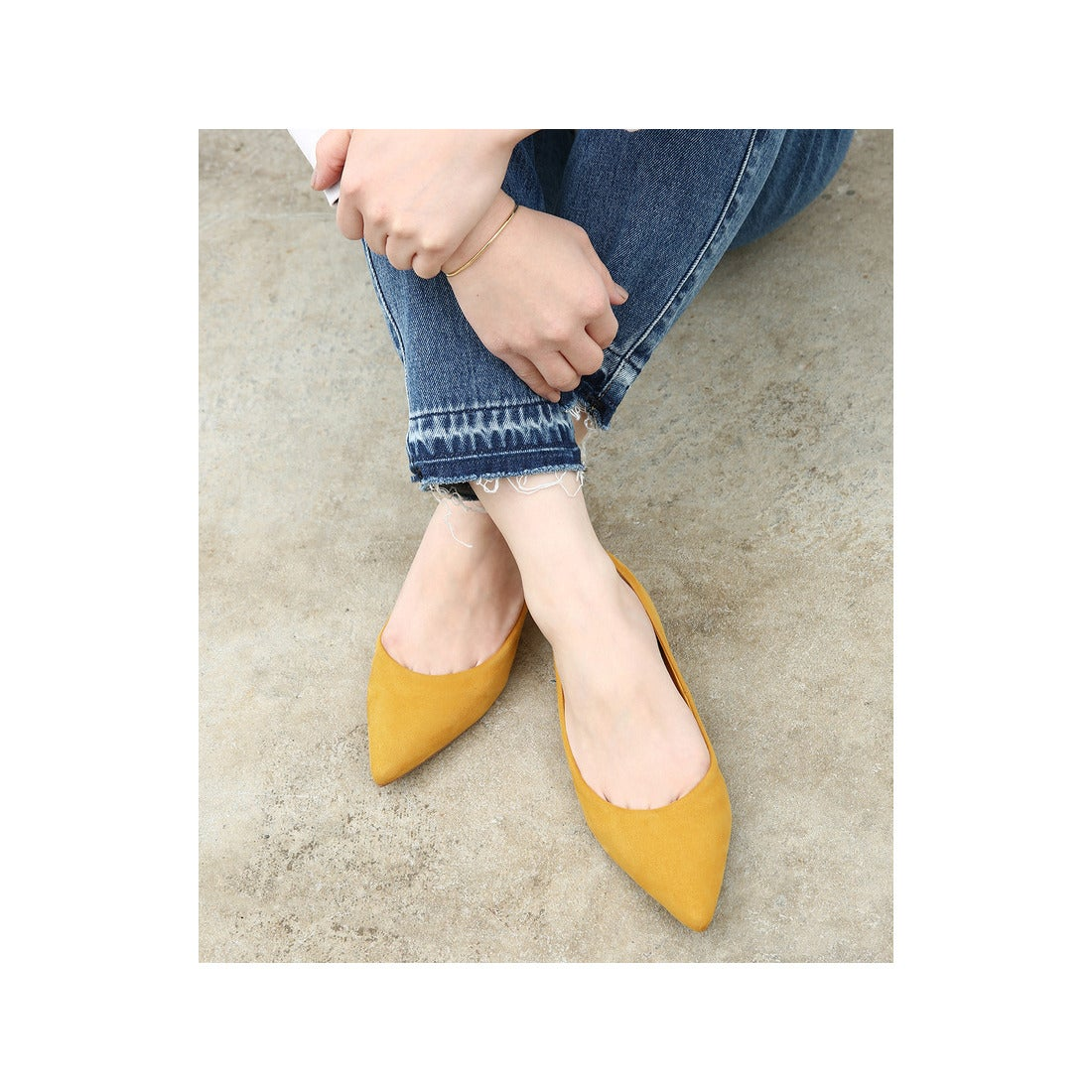 ロコンド 靴とファッションの通販サイトADAMETROPE'【18SS新色登場】ボロネーゼフラット(カラシ(86))【返品不可商品】