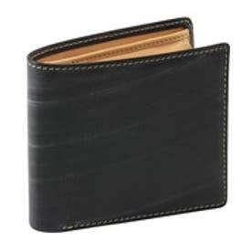 ADC メトロポリタンブライドルレザー二つ折り財布(ブラック)【返品不可商品】