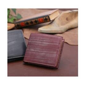 ADC ブリティッシュブライドルレザー二つ折り財布(バーガンディー)【返品不可商品】