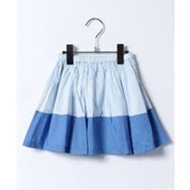 amiami バイカラースカート(ブルー)【返品不可商品】