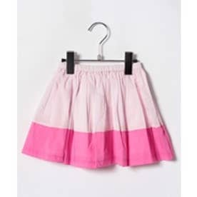 amiami バイカラースカート(ピンク)【返品不可商品】