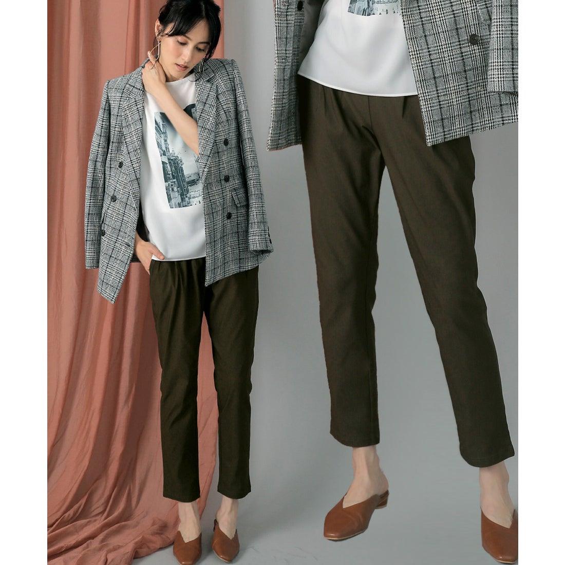 ロコンド 靴とファッションの通販サイトBou Jeloud ◆新デザイン登場◆ハイテンションパンツ(カーキ)【返品不可商品】