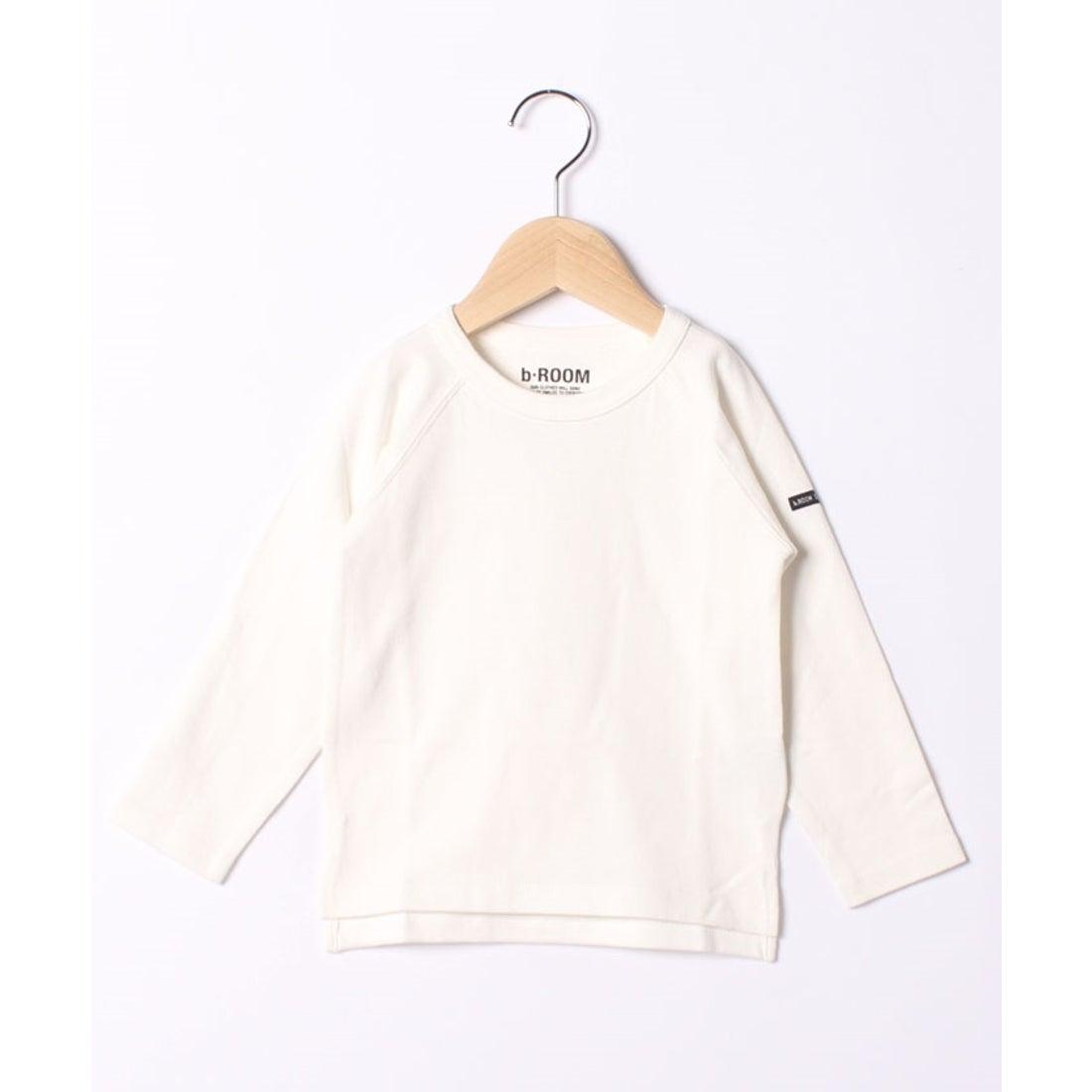 ロコンド 靴とファッションの通販サイトb-ROOM 【WEB限定】ラグラン長袖Tシャツ(オフホワイト)