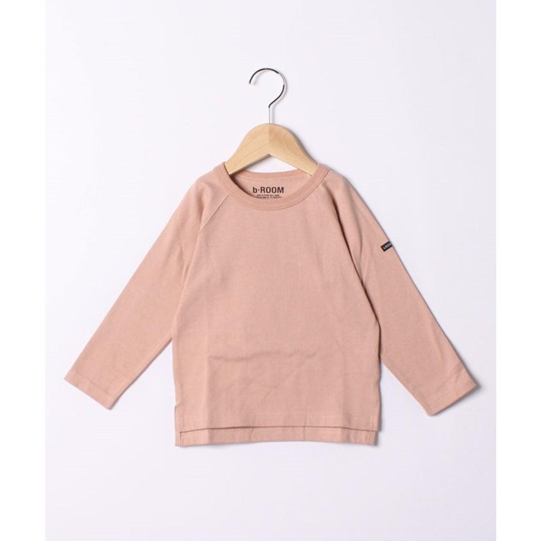 ロコンド 靴とファッションの通販サイトb-ROOM 【WEB限定】ラグラン長袖Tシャツ(ライトピンク)