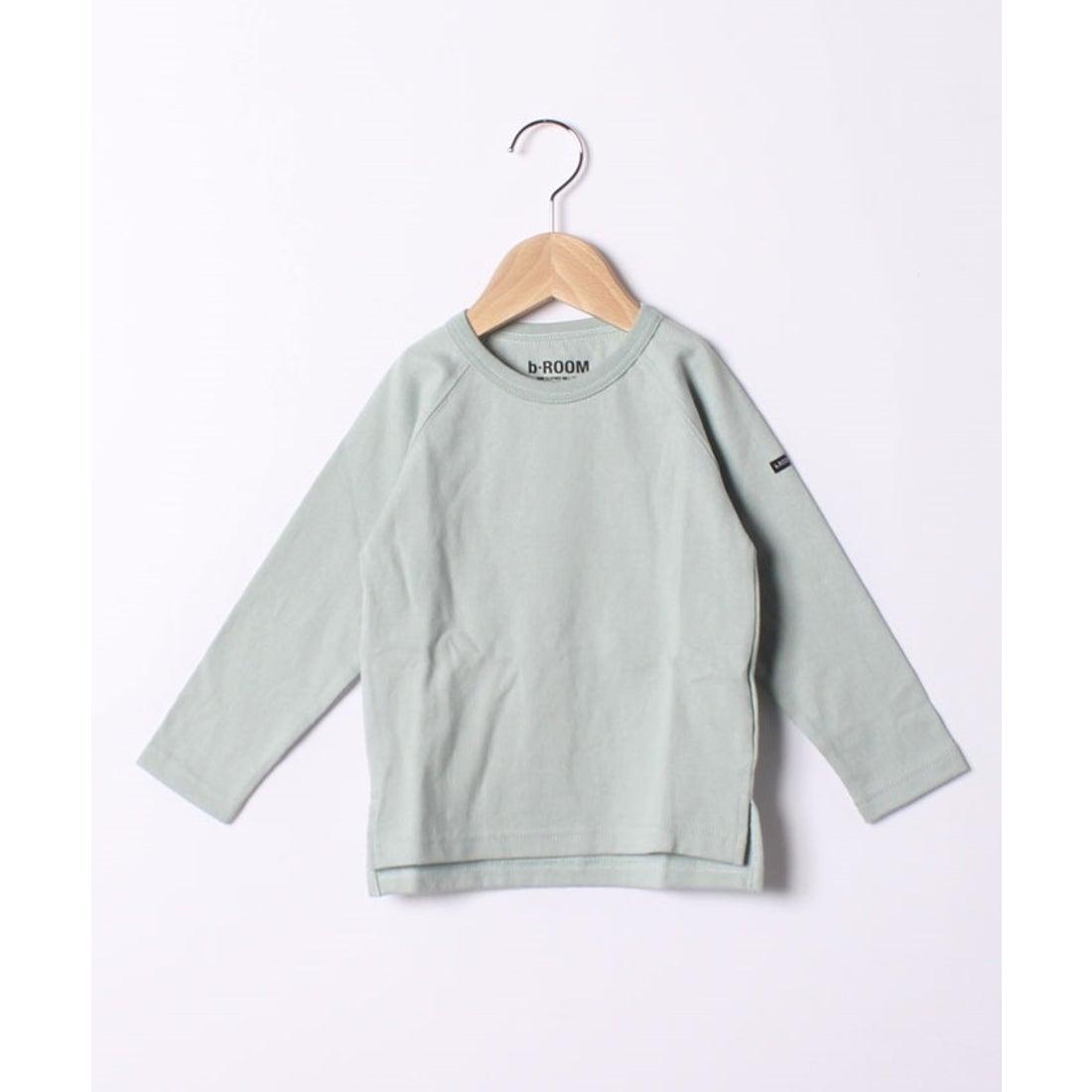 ロコンド 靴とファッションの通販サイトb-ROOM 【WEB限定】ラグラン長袖Tシャツ(ブルーグレー)