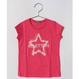 BENETTON (UNITED COLORS OF BENETTON (GIRLS) KIDSニューロゴベーシックTシャツ・カットソー(オレンジ)【返品不可商品】