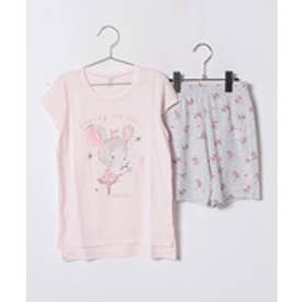 BENETTON (UNITED COLORS OF BENETTON (GIRLS) キッズマウスパジャマセット(ピンク系その他)【返品不可商品】