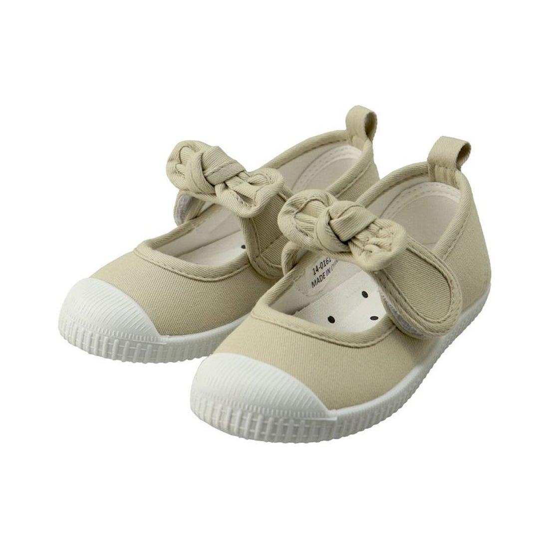 ロコンド 靴とファッションの通販サイトbranshes リボンストラップバレエシューズ(14〜19cm)(ベージュ)【返品不可商品】
