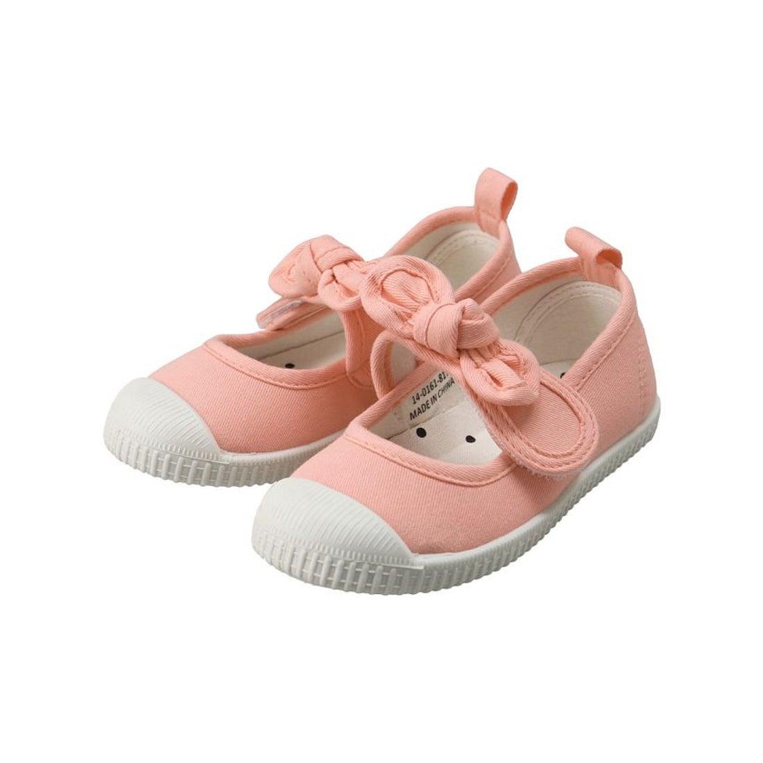ロコンド 靴とファッションの通販サイトbranshes リボンストラップバレエシューズ(14〜19cm)(ピンク)【返品不可商品】