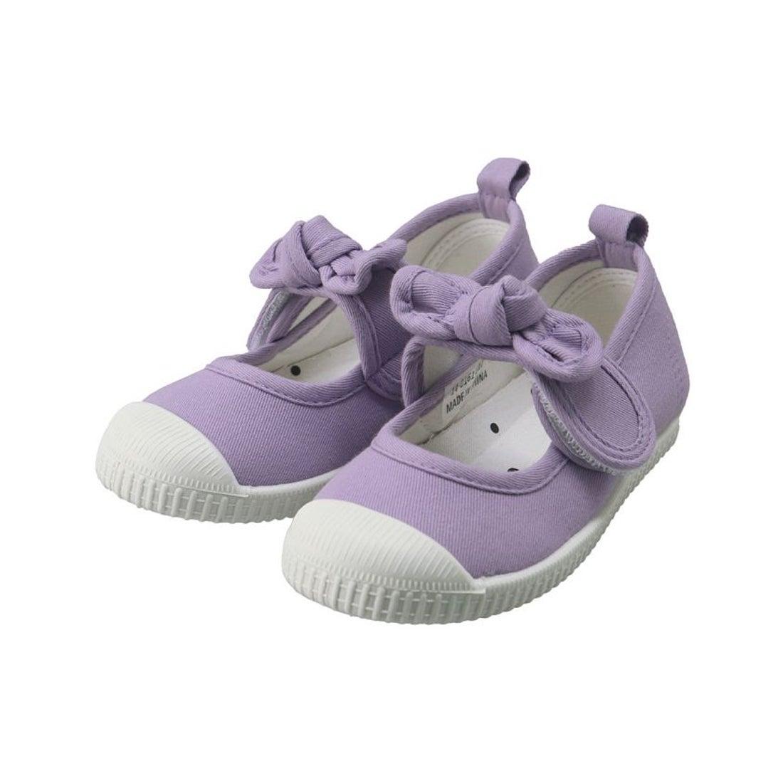 ロコンド 靴とファッションの通販サイトbranshes リボンストラップバレエシューズ(14〜19cm)(ラベンダー)【返品不可商品】