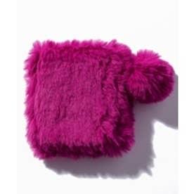 CECIL McBEE エコファー折り畳みミラー(ピンク)