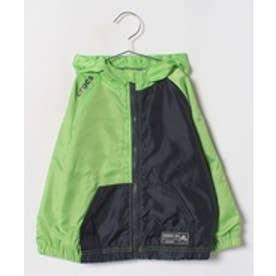 crocs(KIDS WEAR) CROCSカラー切り替えジャケット(ライム)