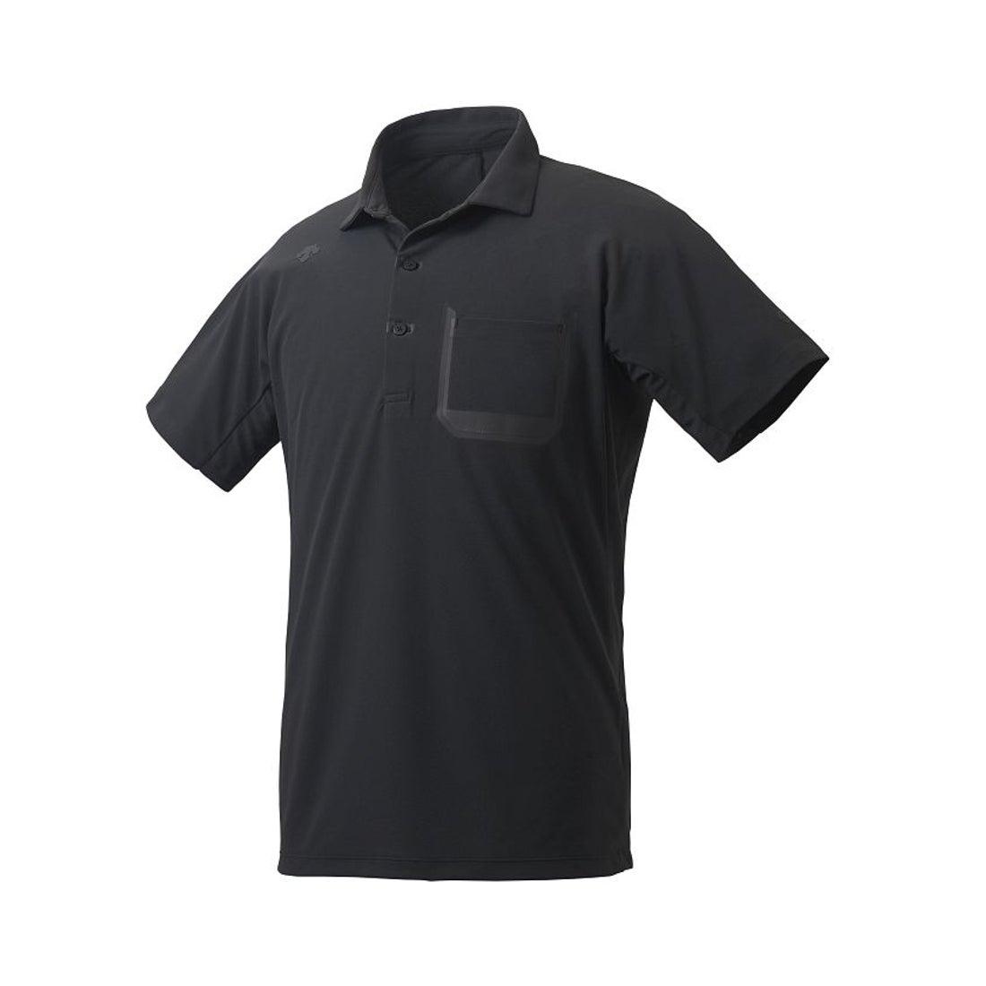 ロコンド 靴とファッションの通販サイトDESCENTE 【ZERO STYLE】サンスクリーン ポロシャツ(ブラック系)【返品不可商品】