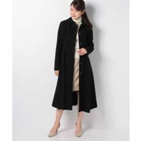 ELISA ハイツイストリングウールコート(2)(ブラック)