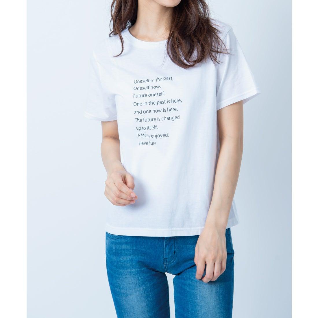FEMINDTOKYOONESELFTシャツ(WHITE)