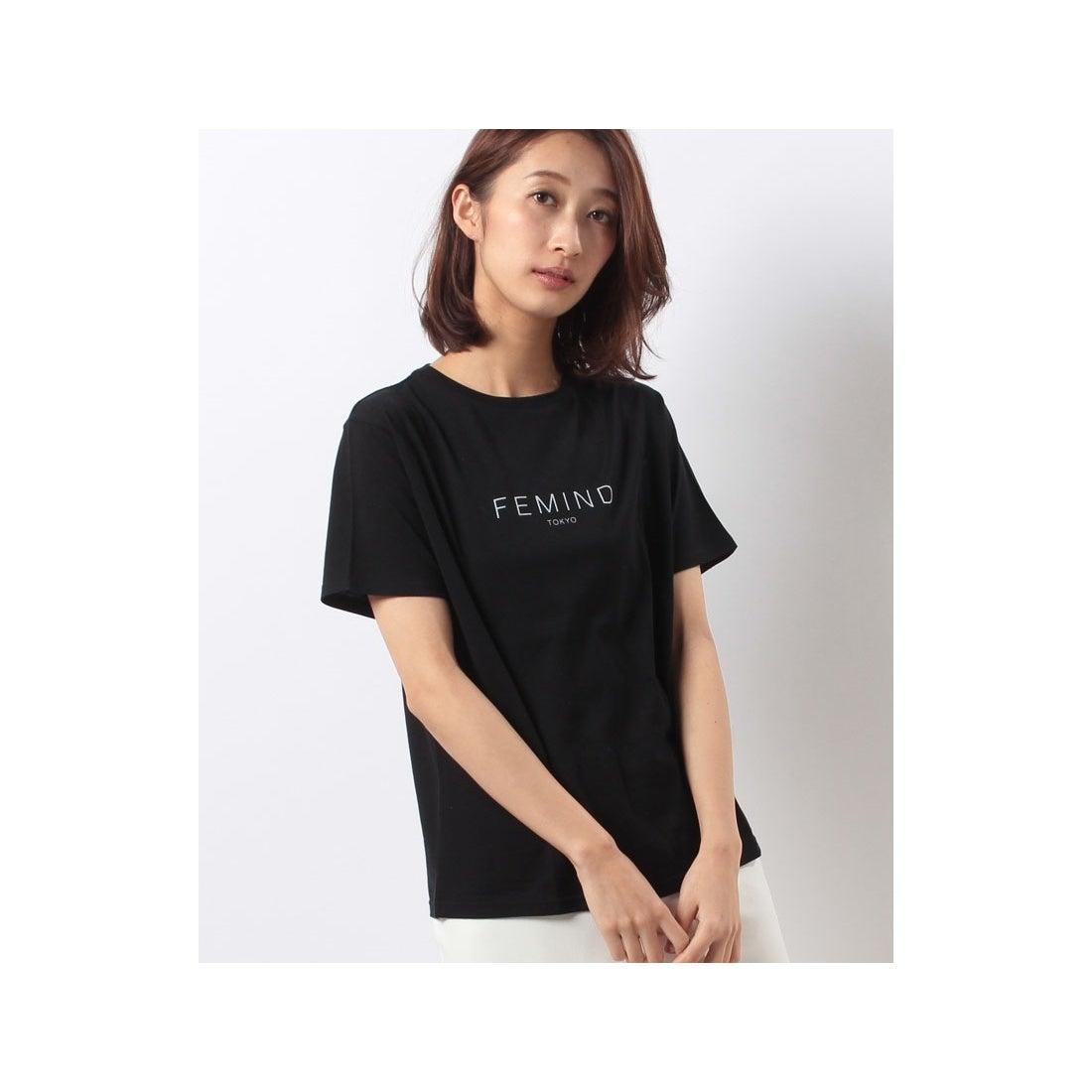 FEMINDTOKYOFEMINDTOKYOTシャツ(BLACK)