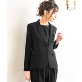 form forma 【喪服・礼服・冠婚葬祭】テーラードフォーマルジャケット(黒)