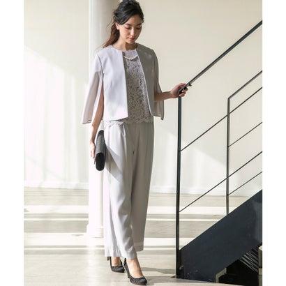 form forma ケープジャケットワイドパンツセットアップドレス(グレー) ,靴&ファッション通販 ロコンド〜自宅で試着、気軽に返品