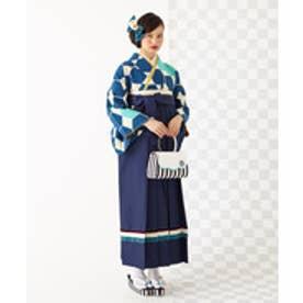 ふりふ 袴「ribbon袴」(インディゴブルー)