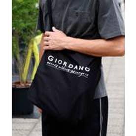 GIORDANOM ロゴキャンバスバッグ(ブラック)【返品不可商品】