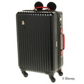 Jewelna Rose ≪ジュエルナローズ≫カレッジ・ミッキー型ハンドルカバー付きスーツケース/06039(ブラック)