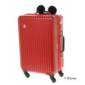 Jewelna Rose ≪ジュエルナローズ≫カレッジ・ミッキー型ハンドルカバー付きスーツケース/06039(レッド)