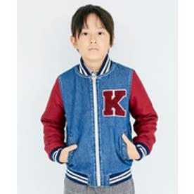 KRIFF MAYER(Kids) 裏ボアスタジャン(120~160cm)(インディゴ)