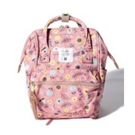 LAGOM 【anello®別注】総柄リュック(ピンク)