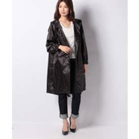 MARcourt 【mizuiro ind】:mod's coat(black)【返品不可商品】